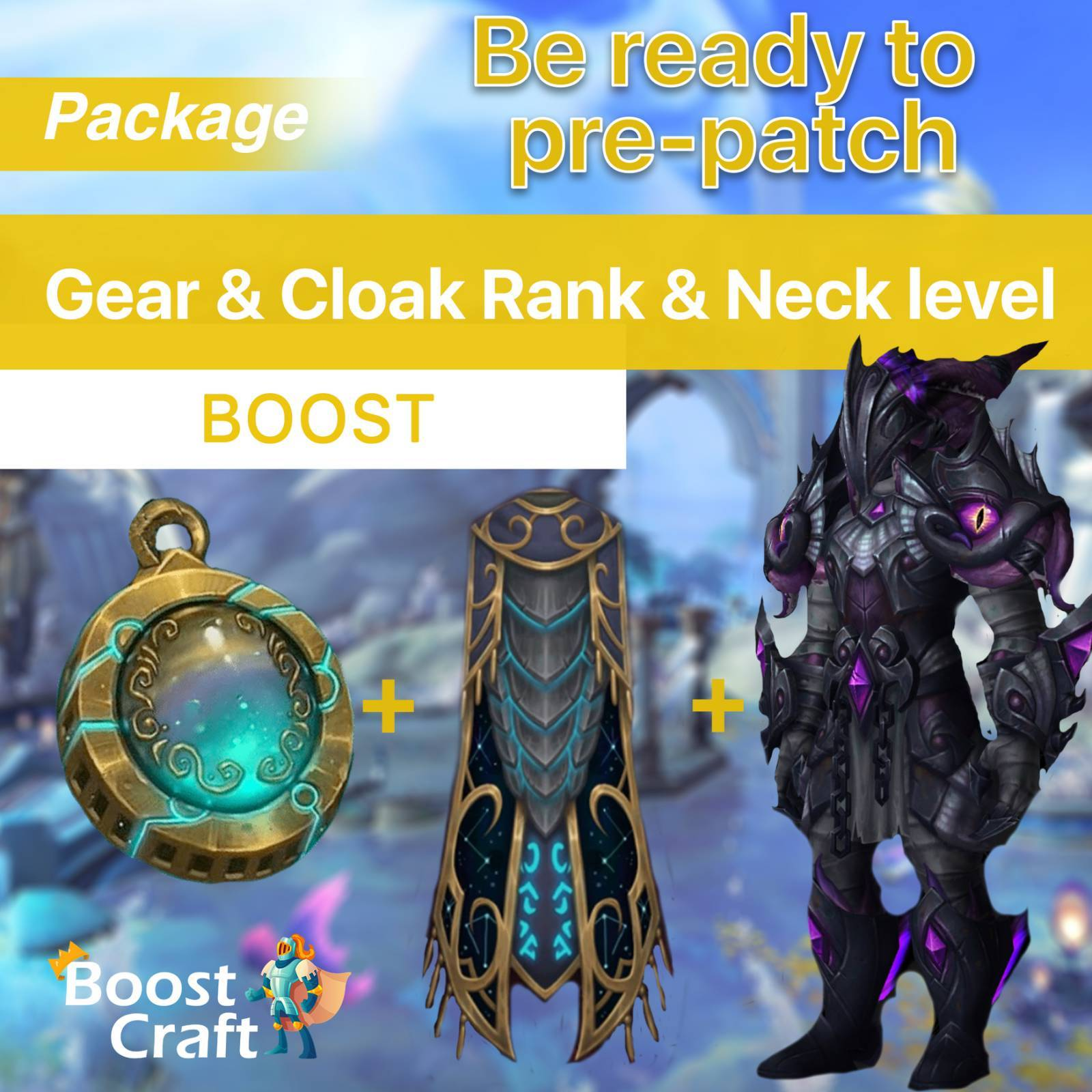 Gear & Cloak & Neck – New charather bundle