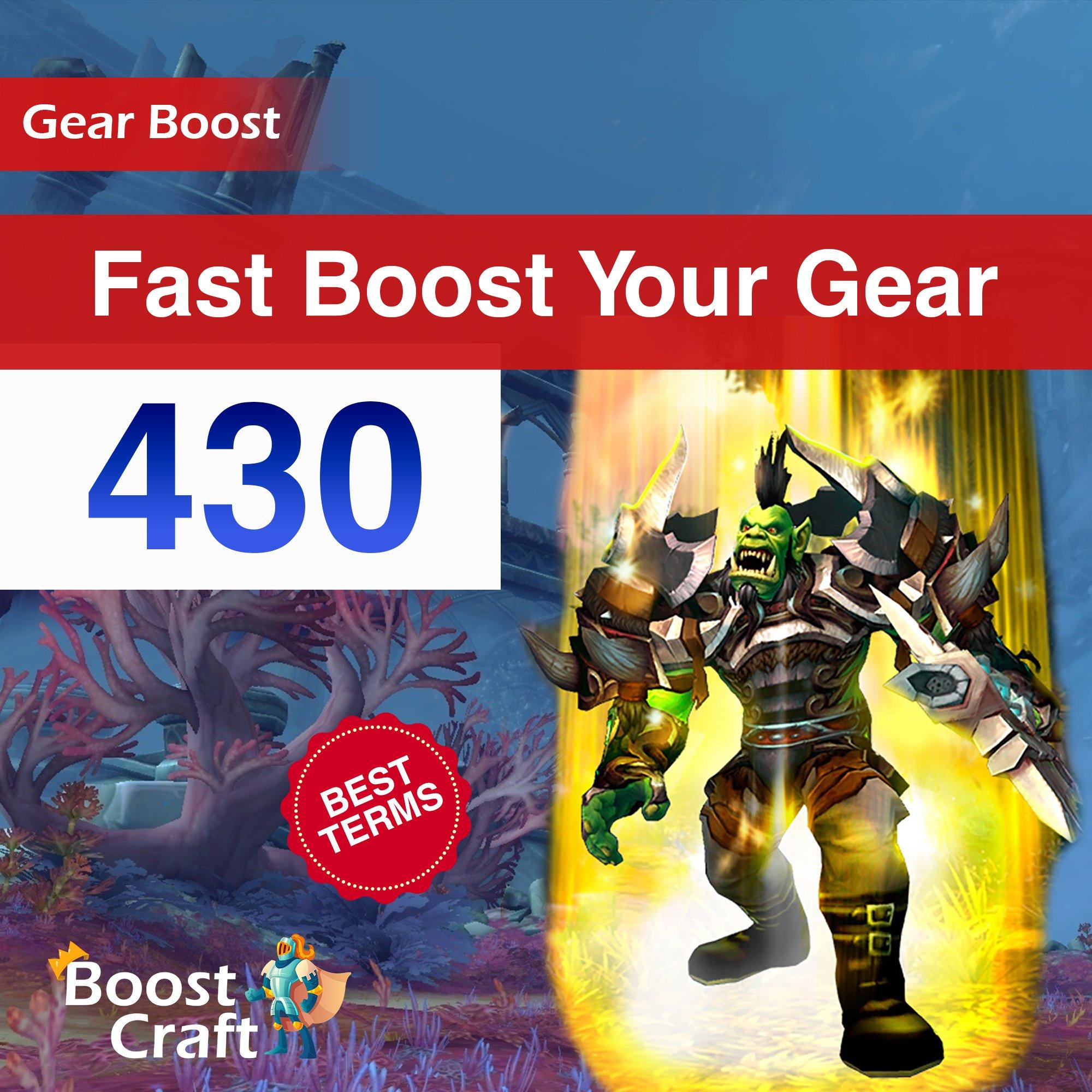 Fast WoW Gear Improve – 430ilvl Boost
