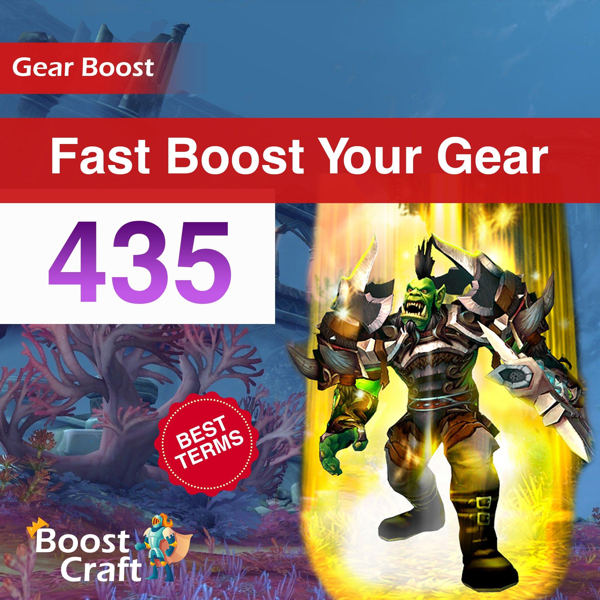 Fast WoW Gear Improve – 435ilvl Boost