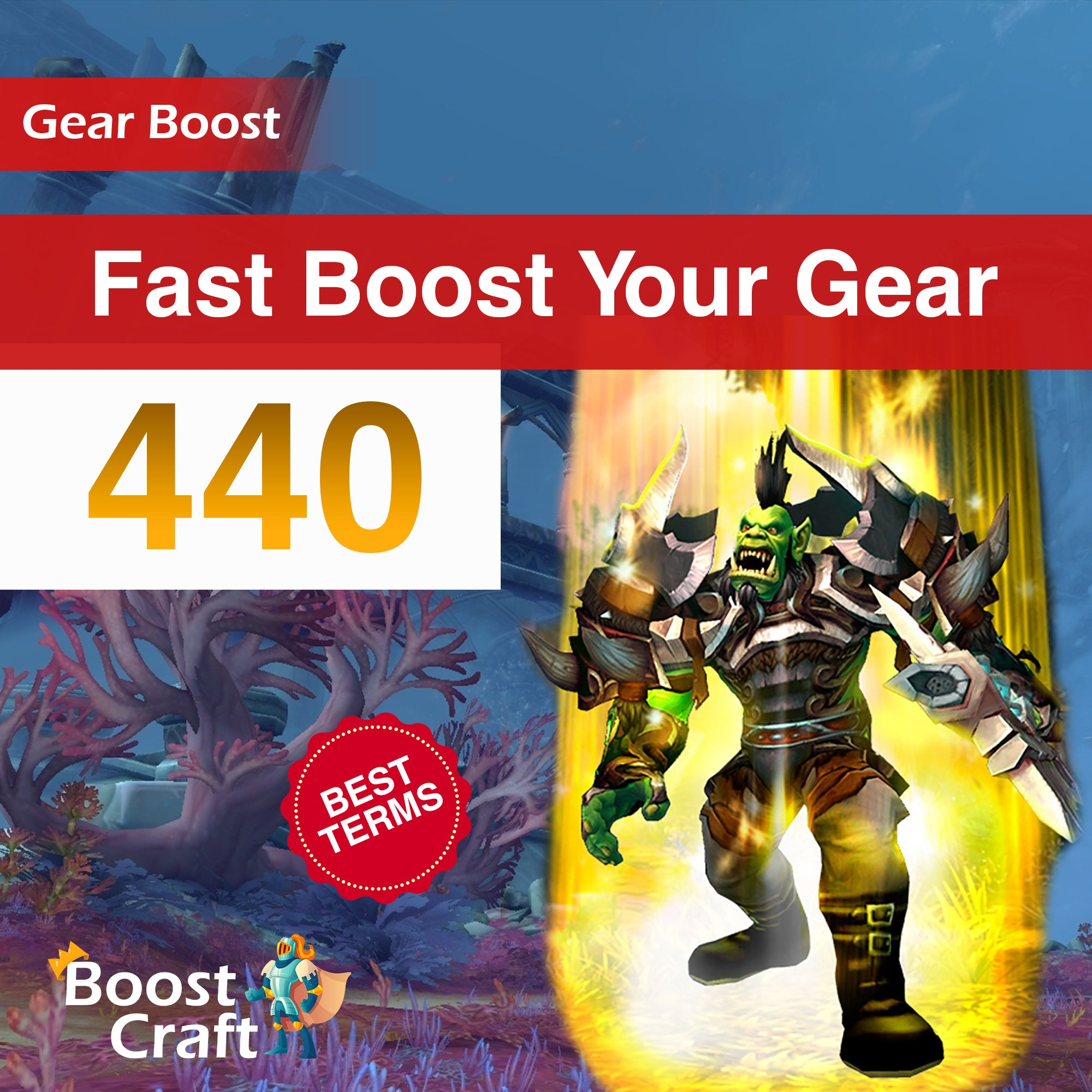Fast WoW Gear Improve – 440ilvl Boost
