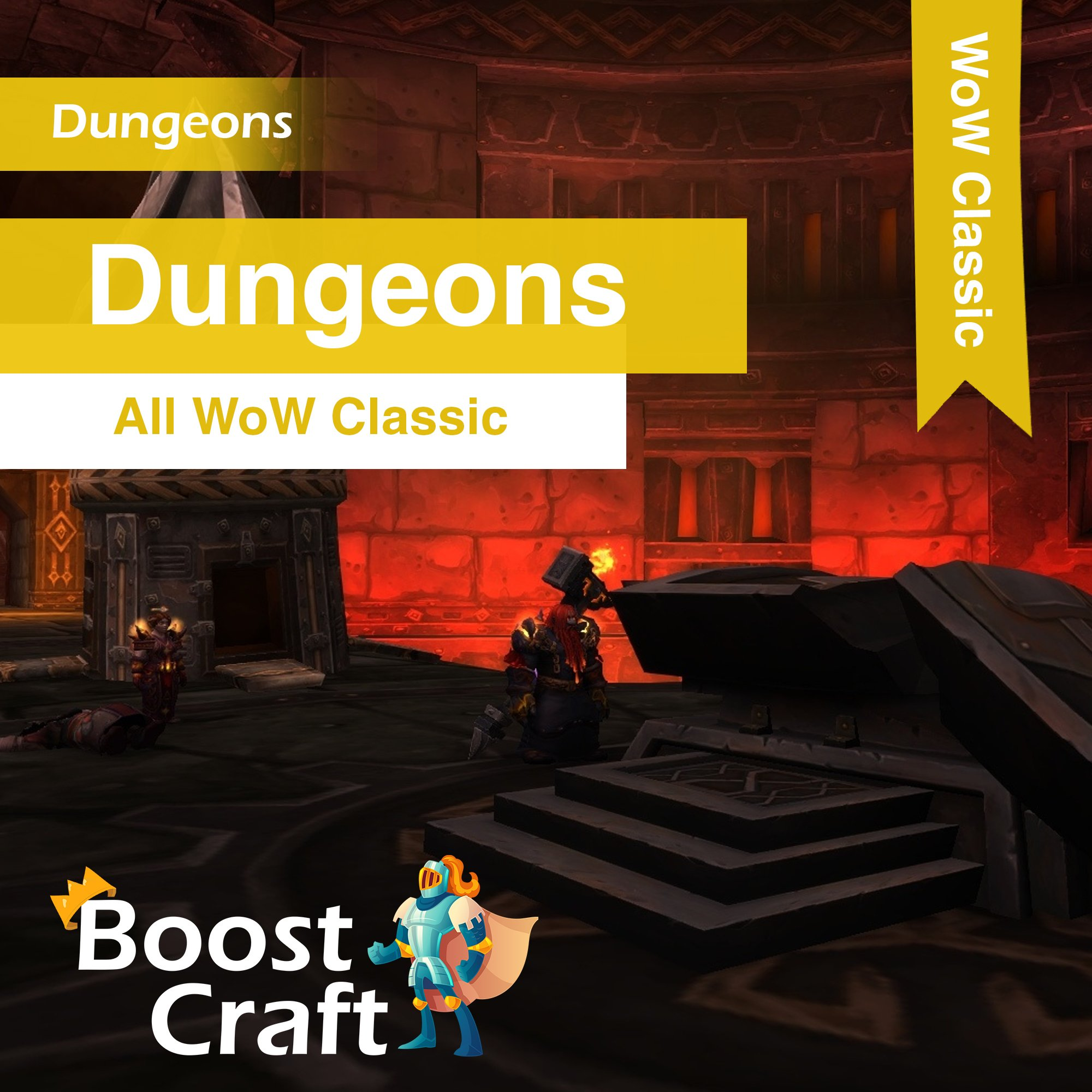 WoW Classic – Dungeons Boost