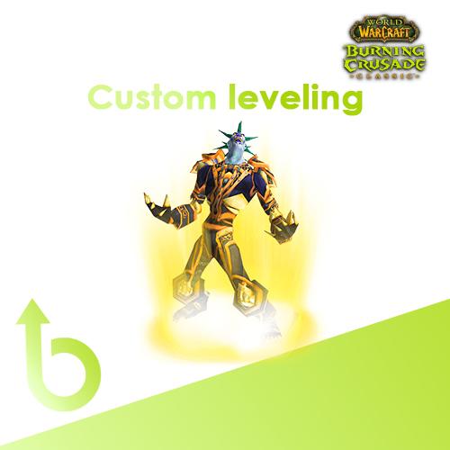 WoW TBC Classic – Custom Leveling Range Boost Service