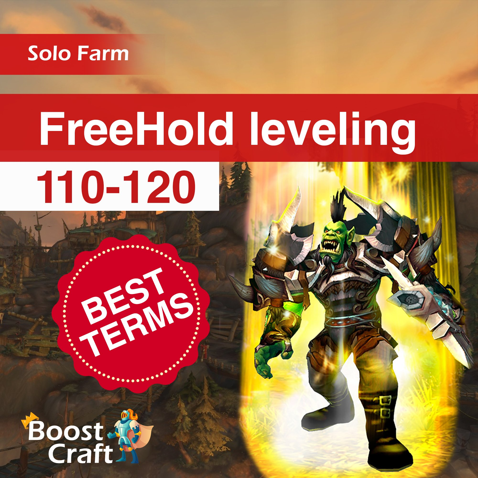 Selfplayed leveling (Freehold) 110-120 BEST TERMS Boost