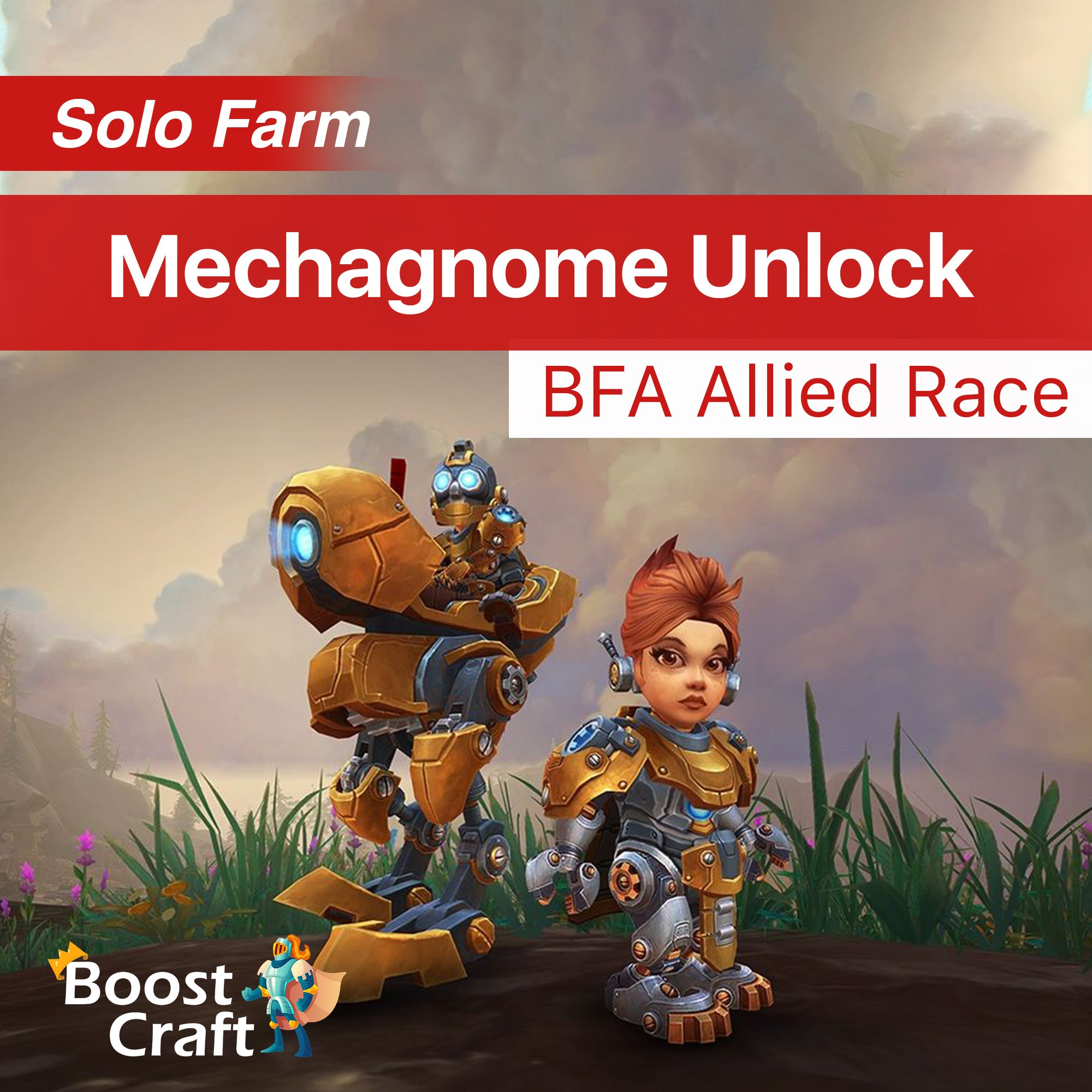 Mechagnome race BFA Allied Race – Unlock Service