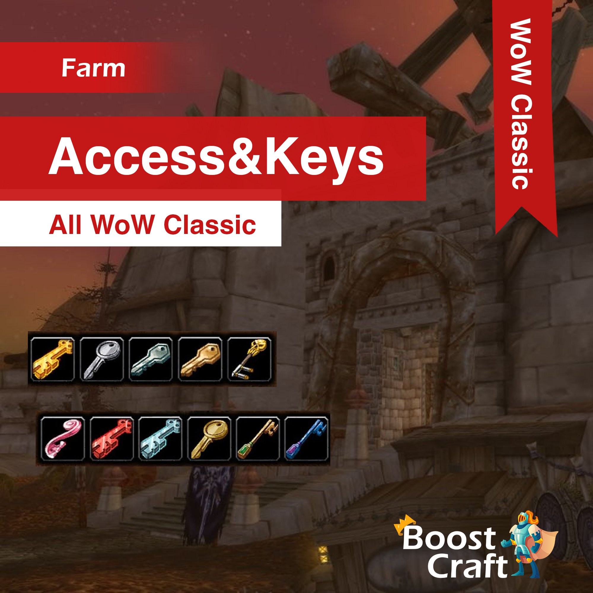WoW Classic – Access & Keys