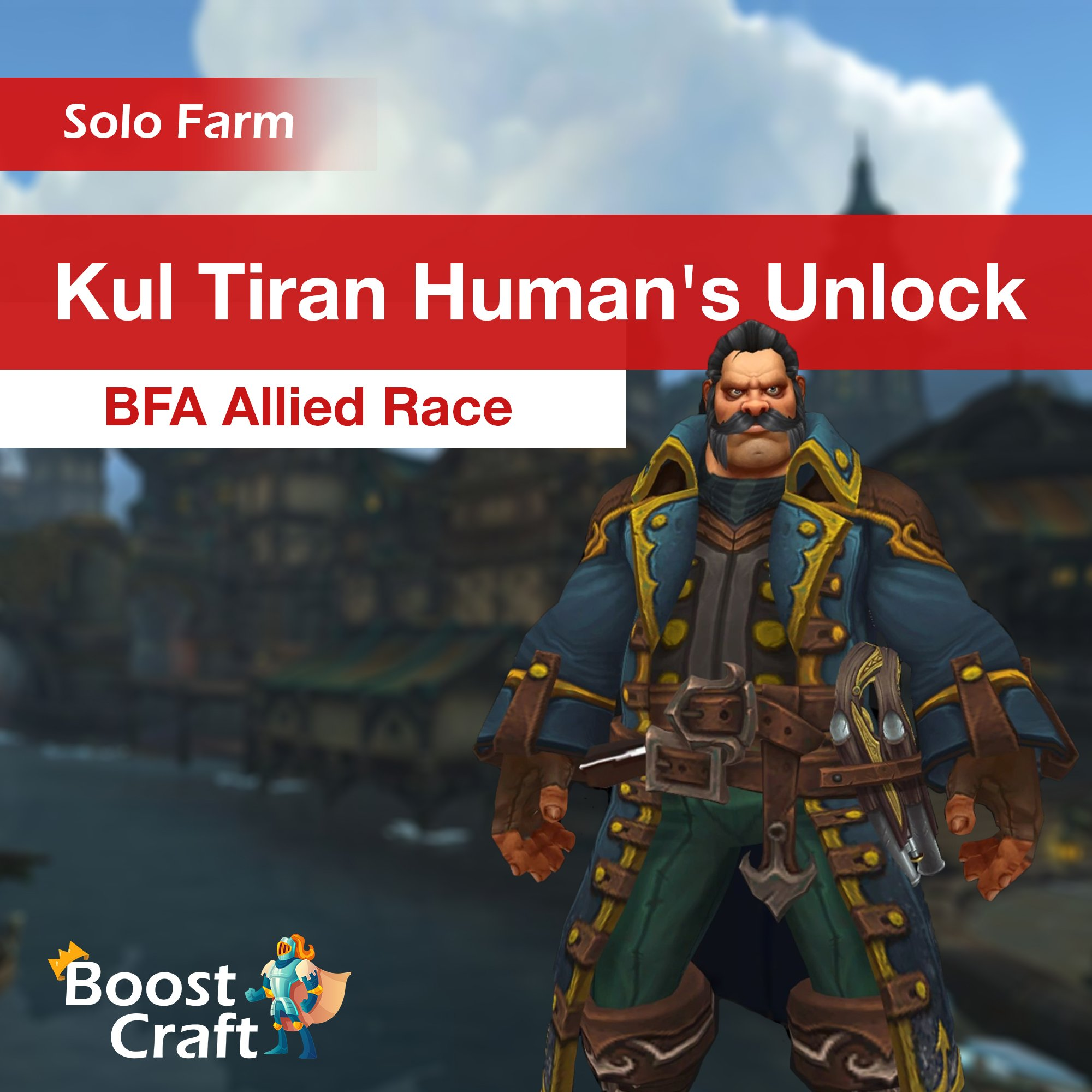 Kul Tiran Humans Allied Race – Unlock Service
