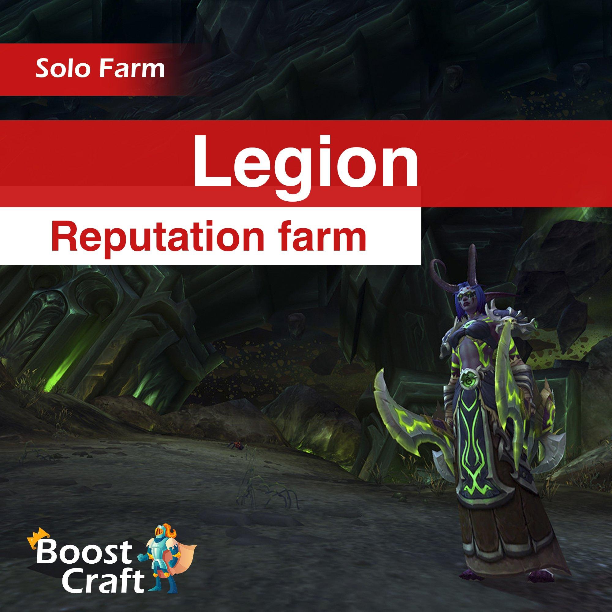 Legion Reputations Boost – Farm Service