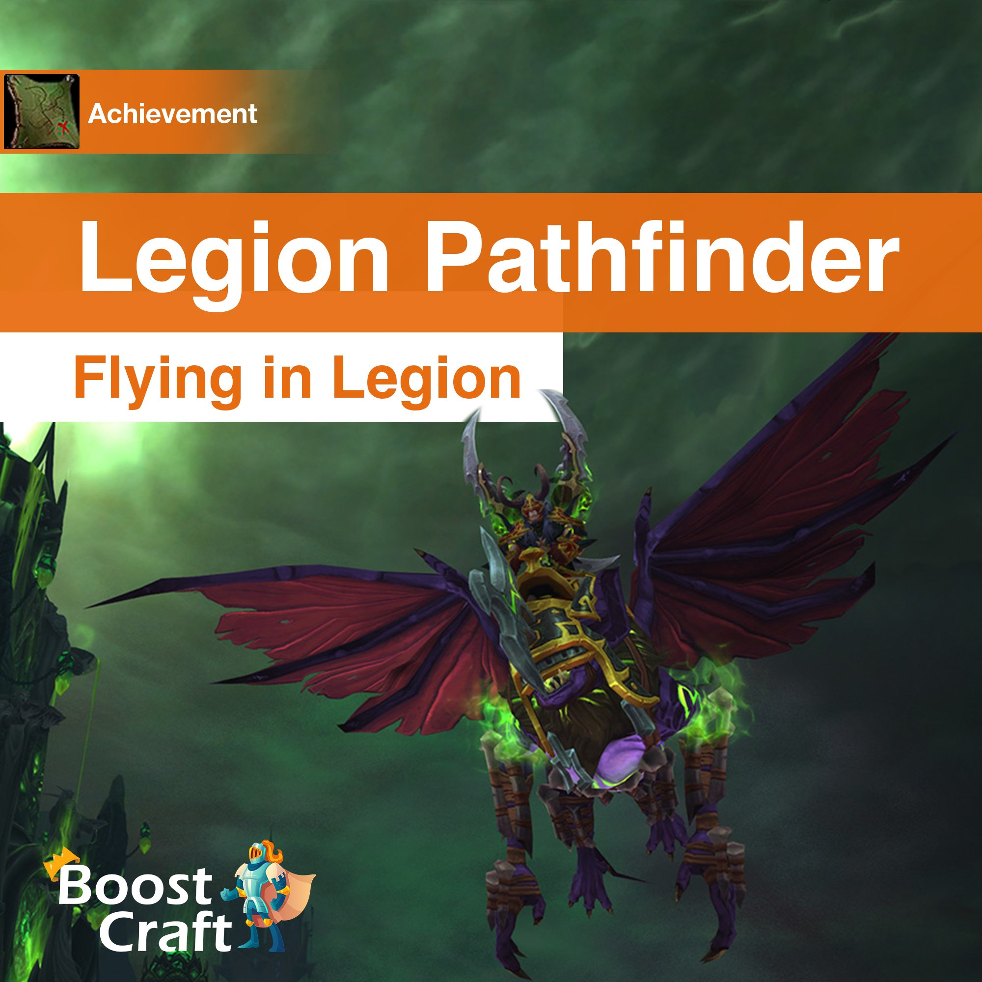 Legion Pathfinder – Unlock flying in Legion