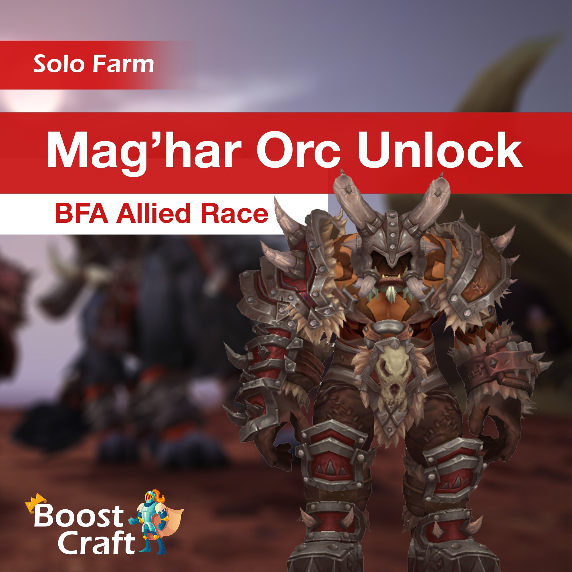 Mag'har Orc Allied Race – Unlock Service