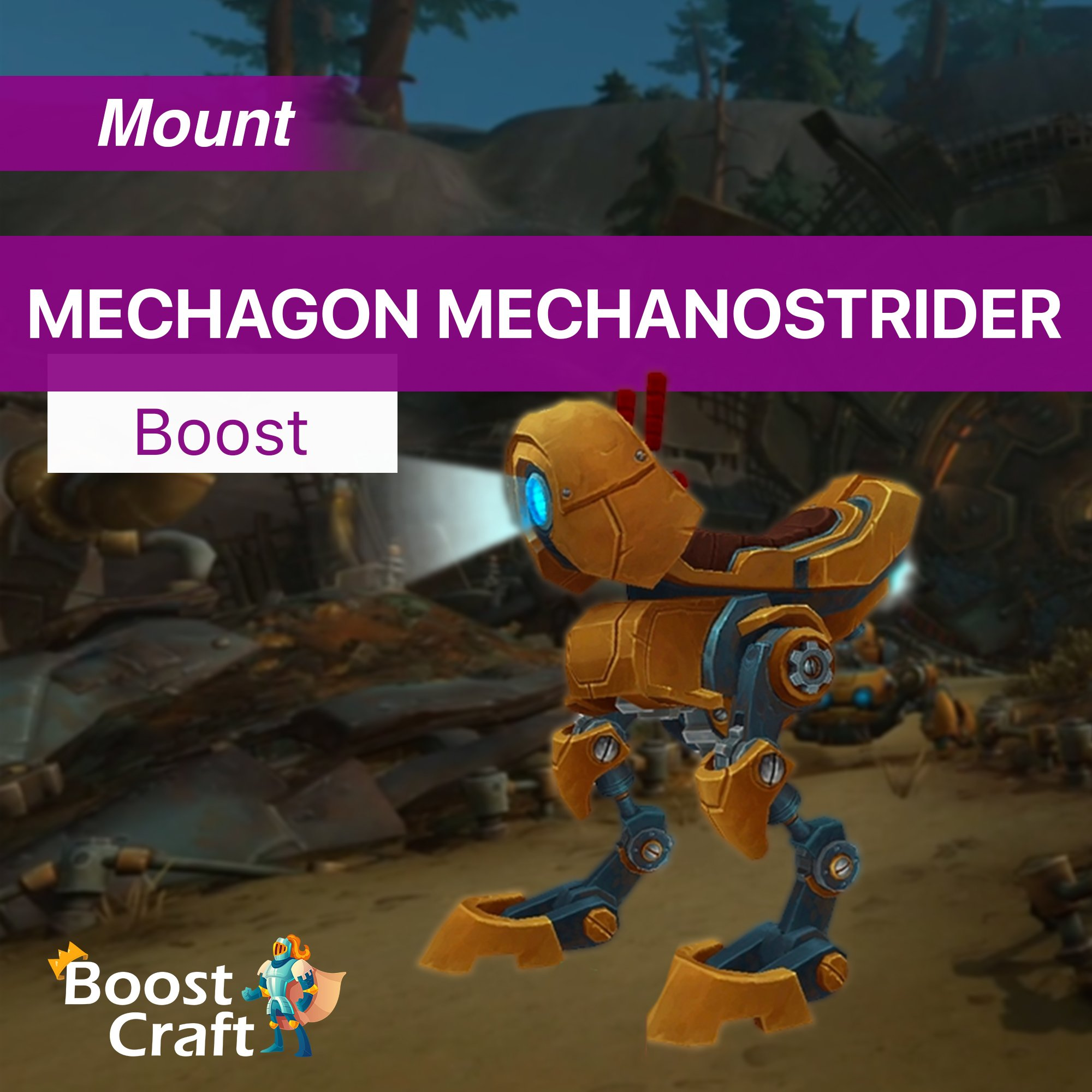 Mechagon Mechanostrider Mount – Farm Service