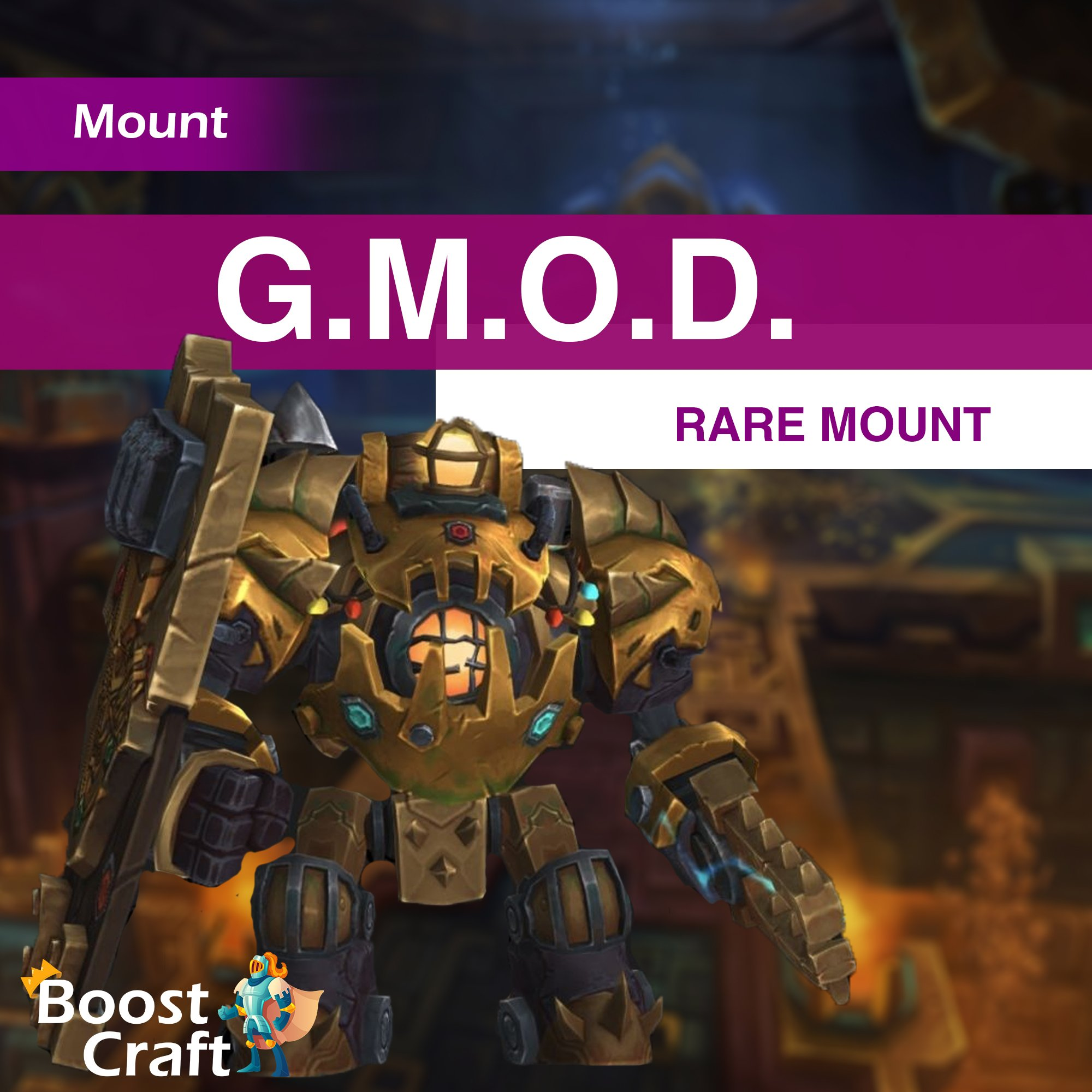 G.M.O.D. Mount farm – Boost
