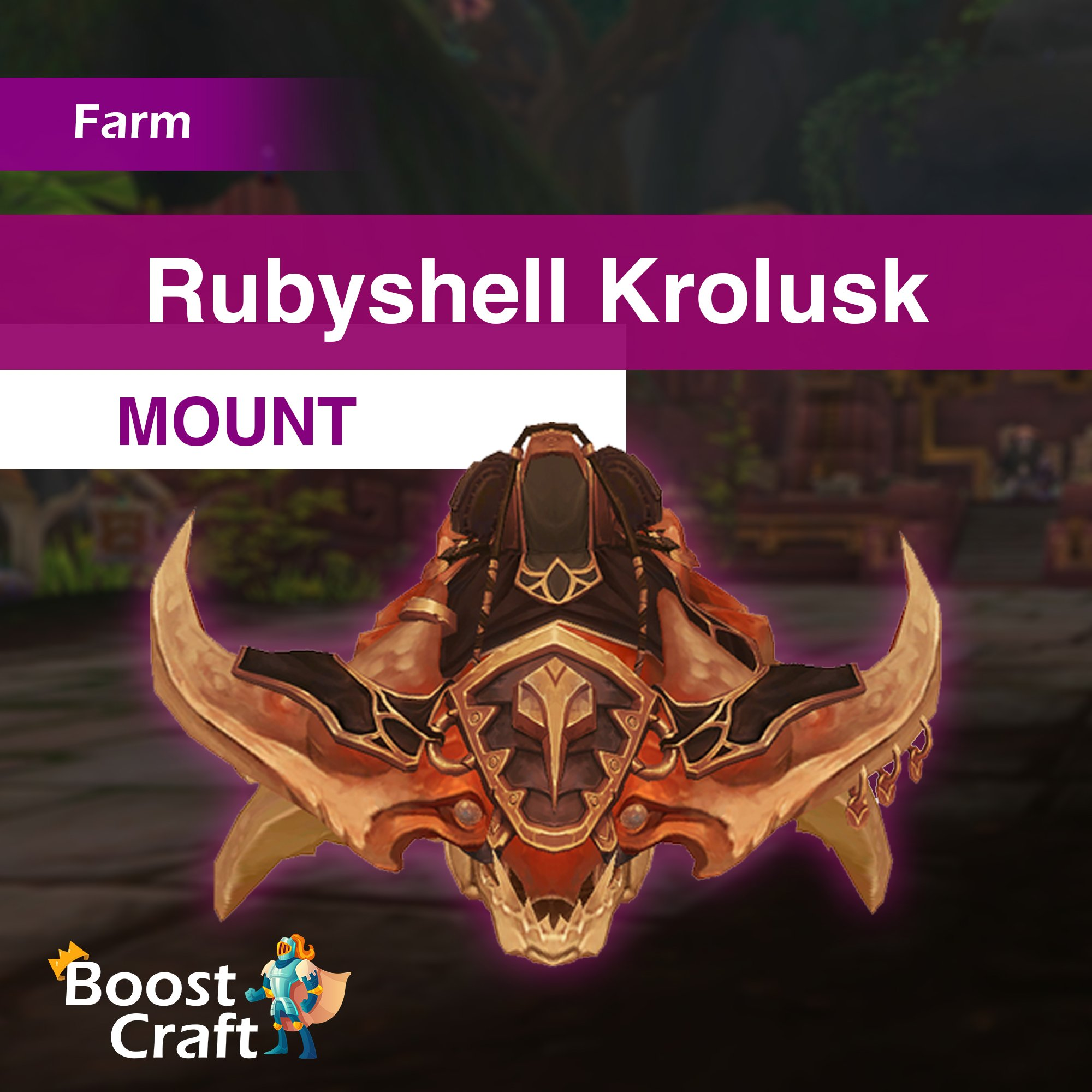 Rubyshell Krolusk Mount – Farm Service