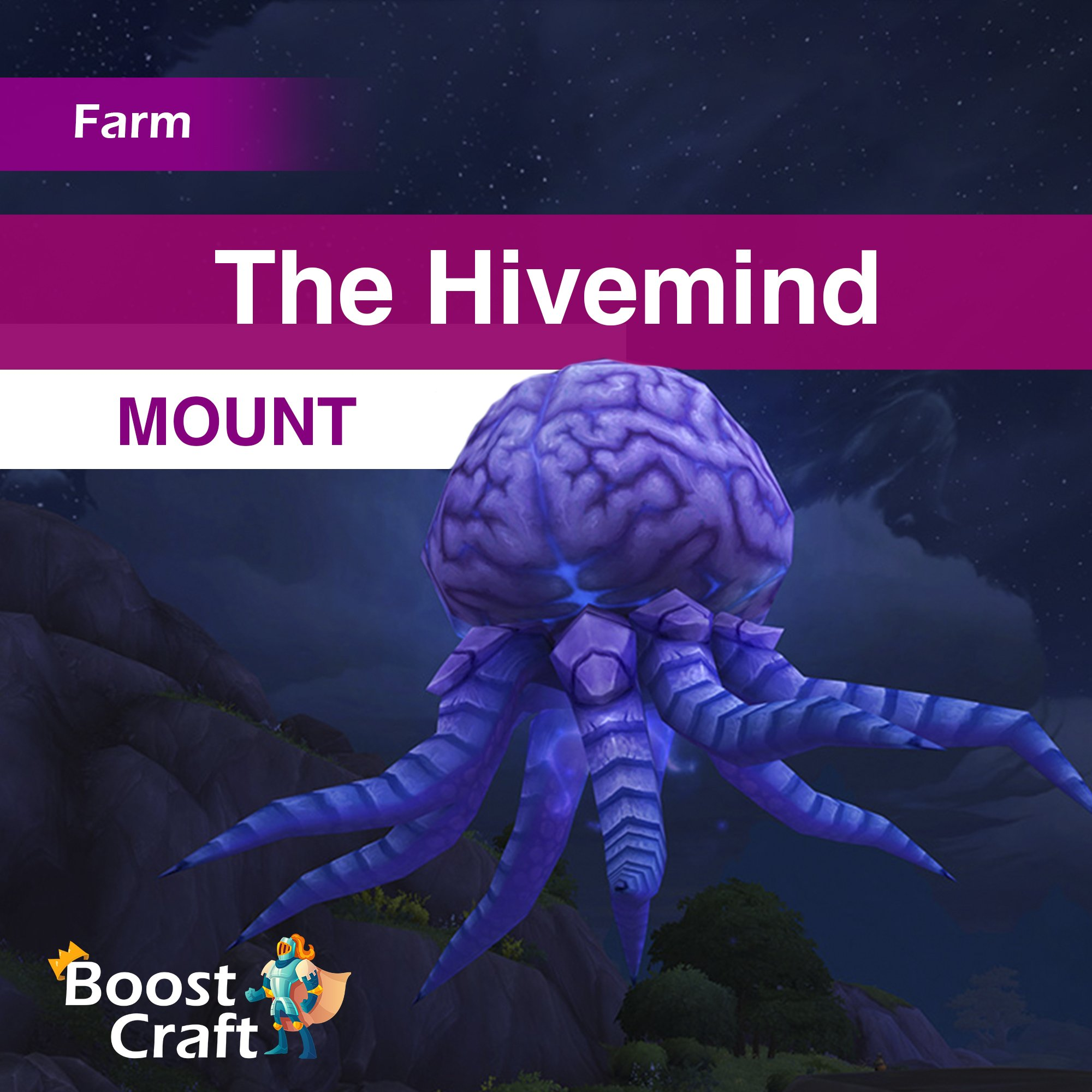 The Hivemind Mount – Boost Service