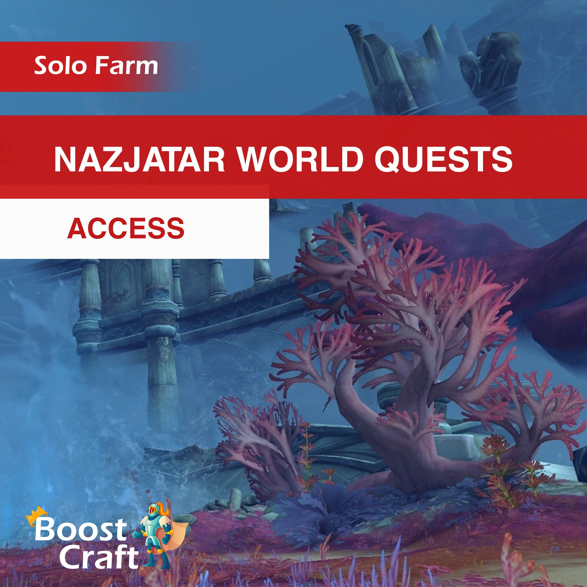Nazjatar World Quests Access