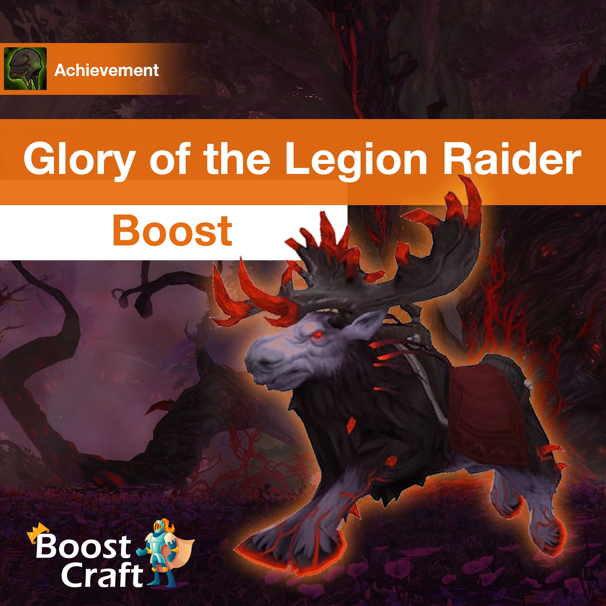 [Glory of the Legion Raider] Boost