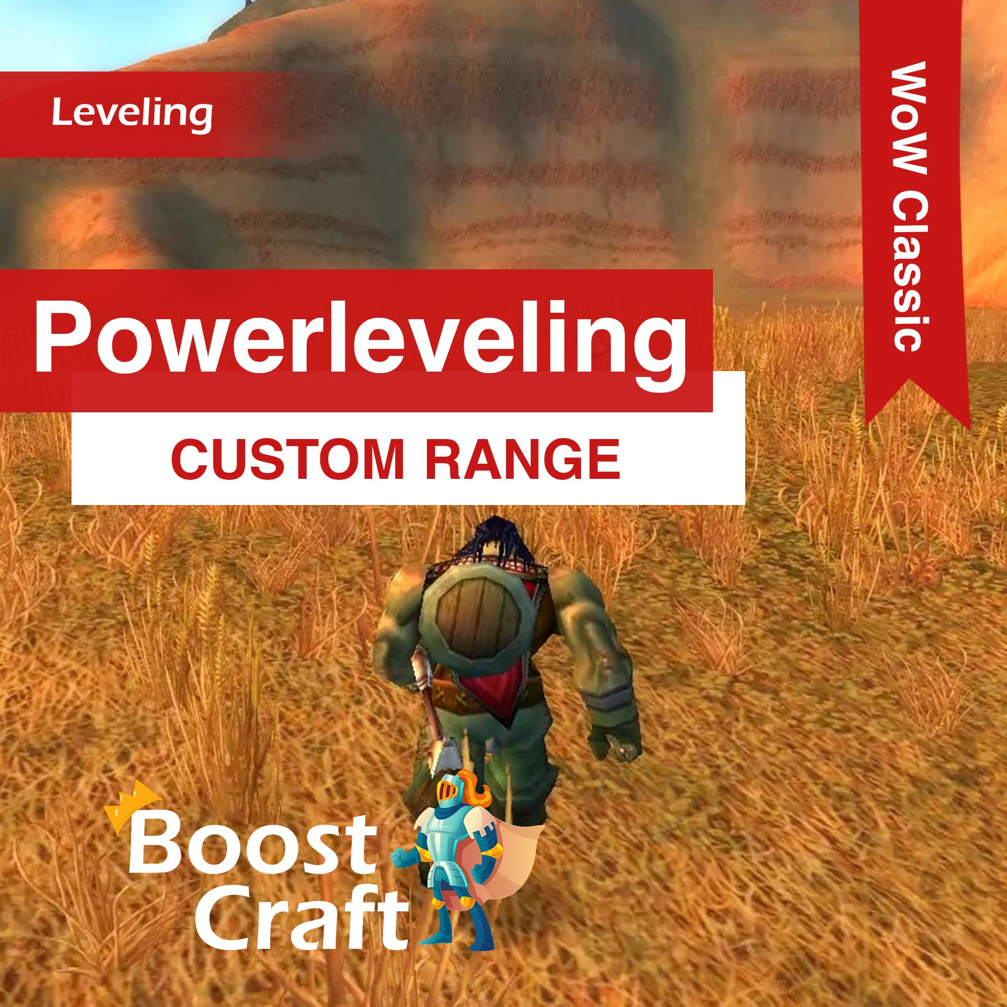 WoW Classic – Custom Powerleveling Range Boost