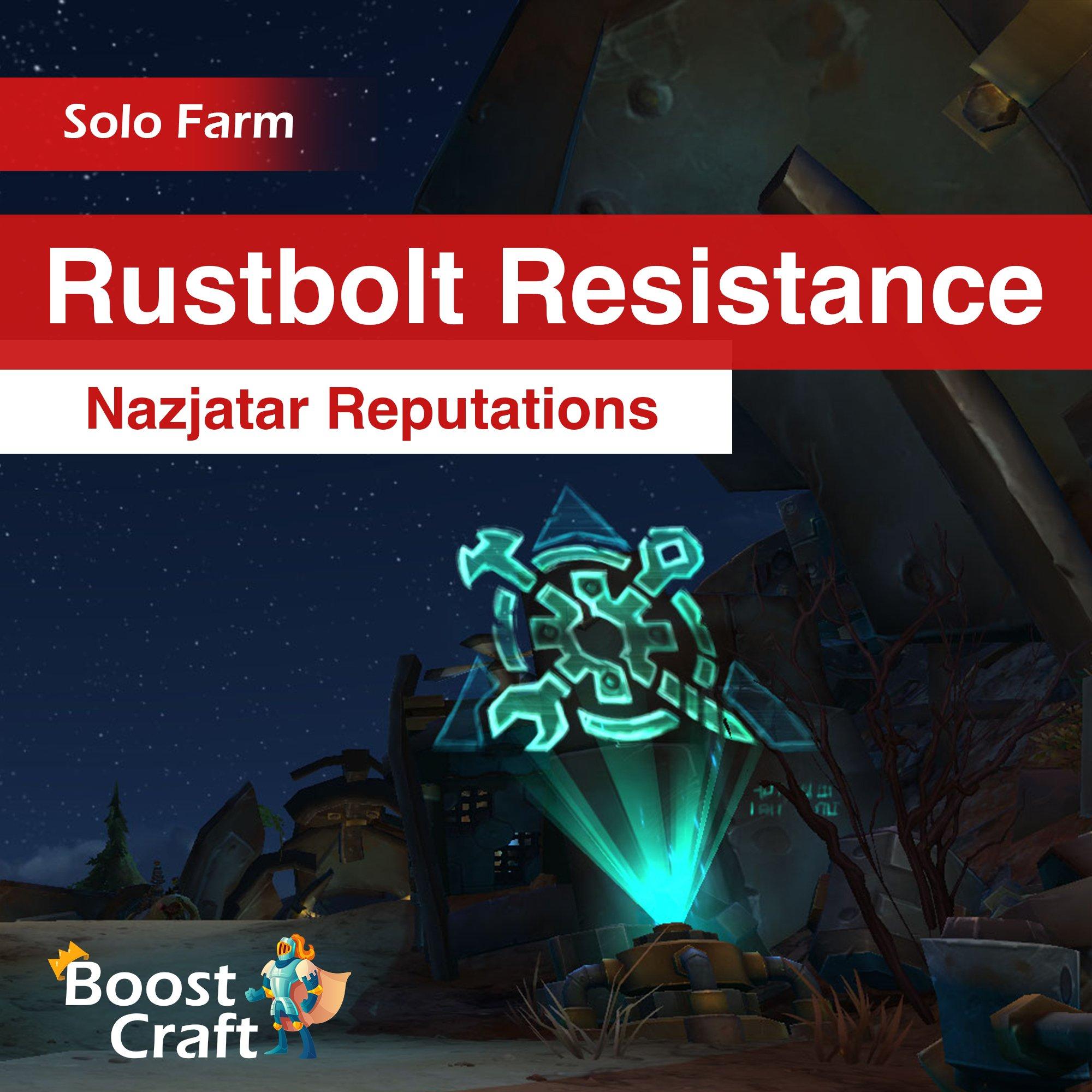 Rustbolt Resistance – 8.2 Reputation Farm Service