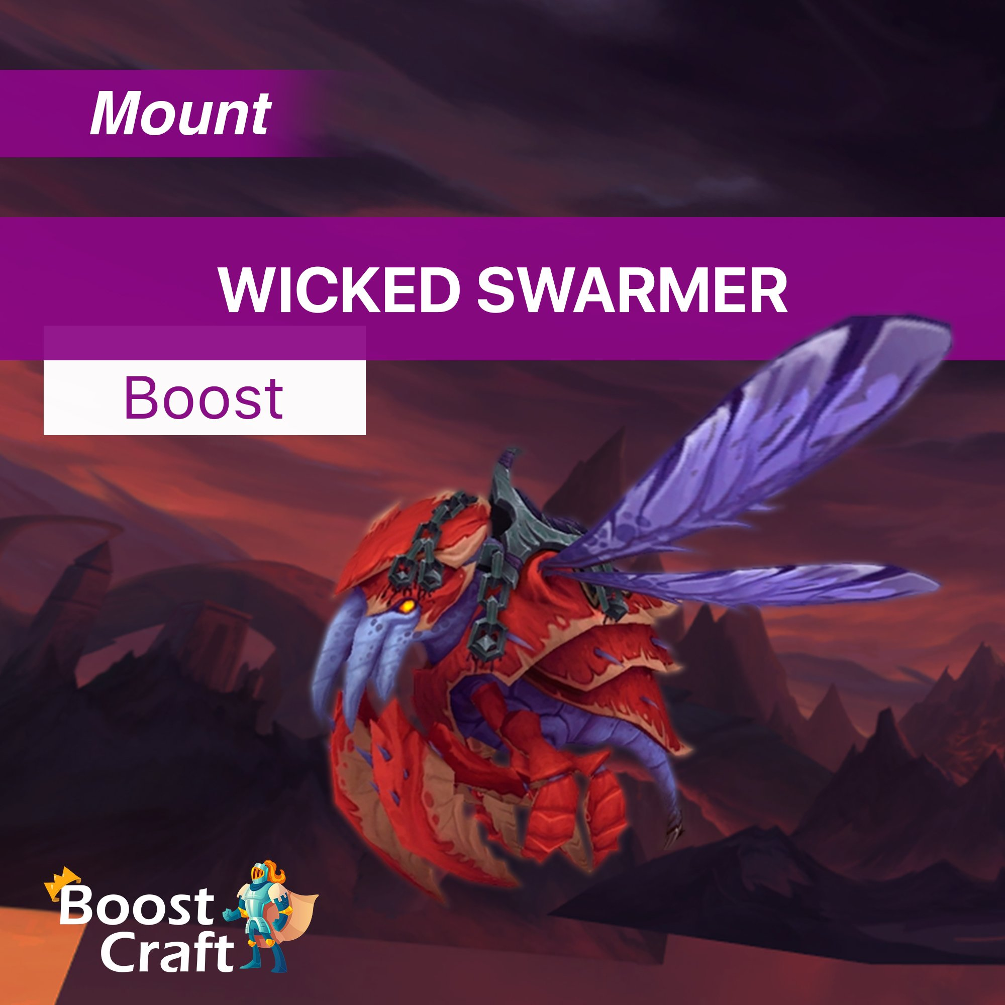 Wicked Swarmer Mount Farm – Service