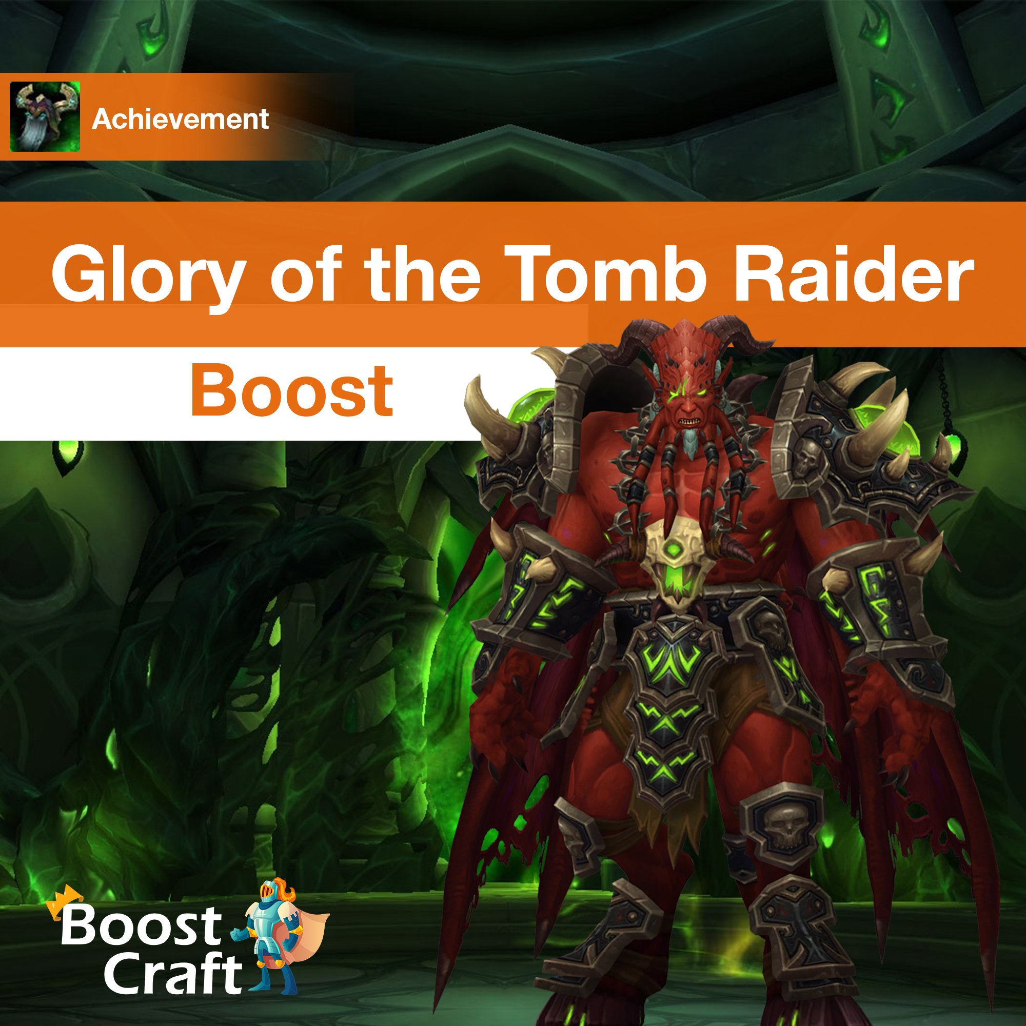 [Glory of the Tomb Raider] Boost