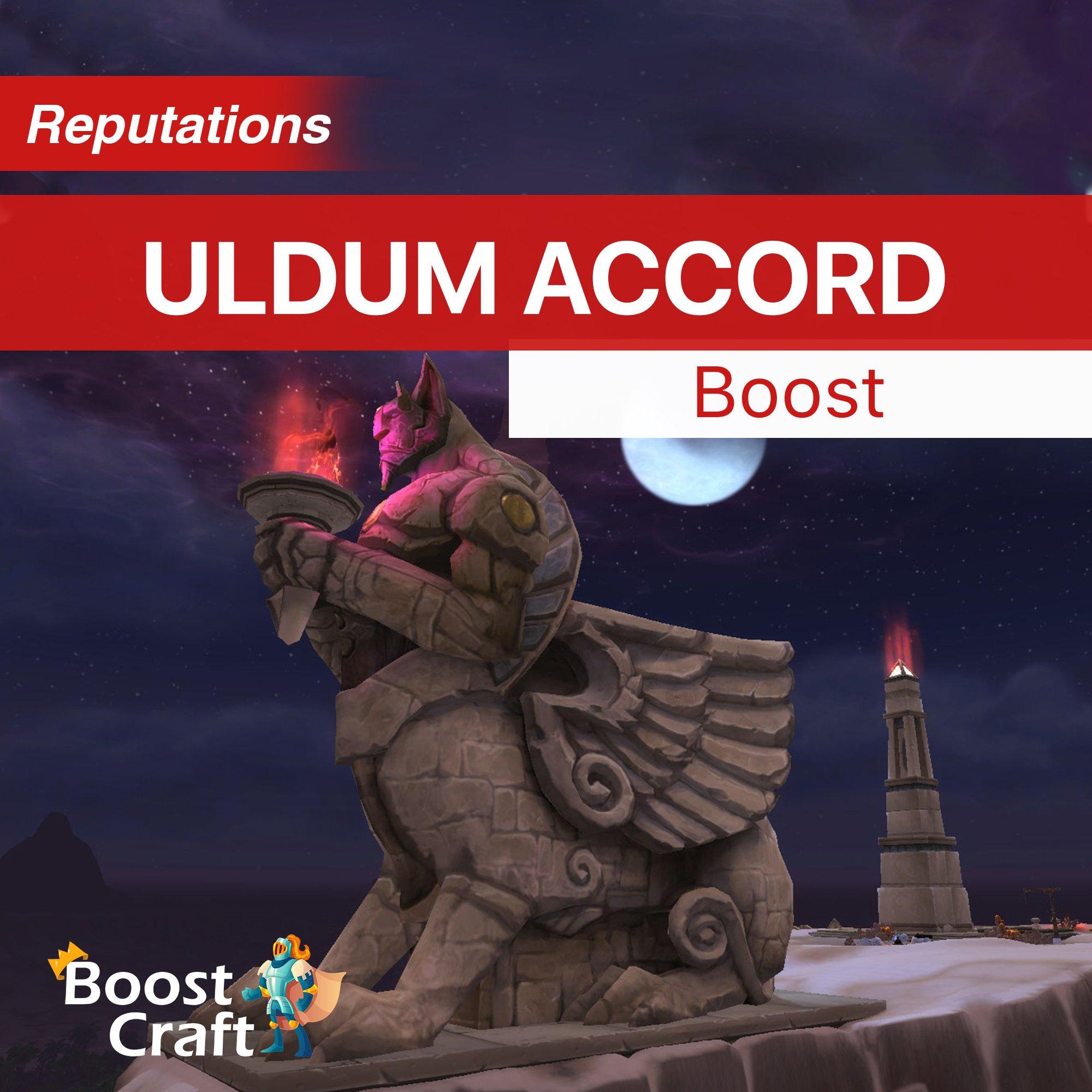Uldum Accord – 8.3 Reputation Farm Service