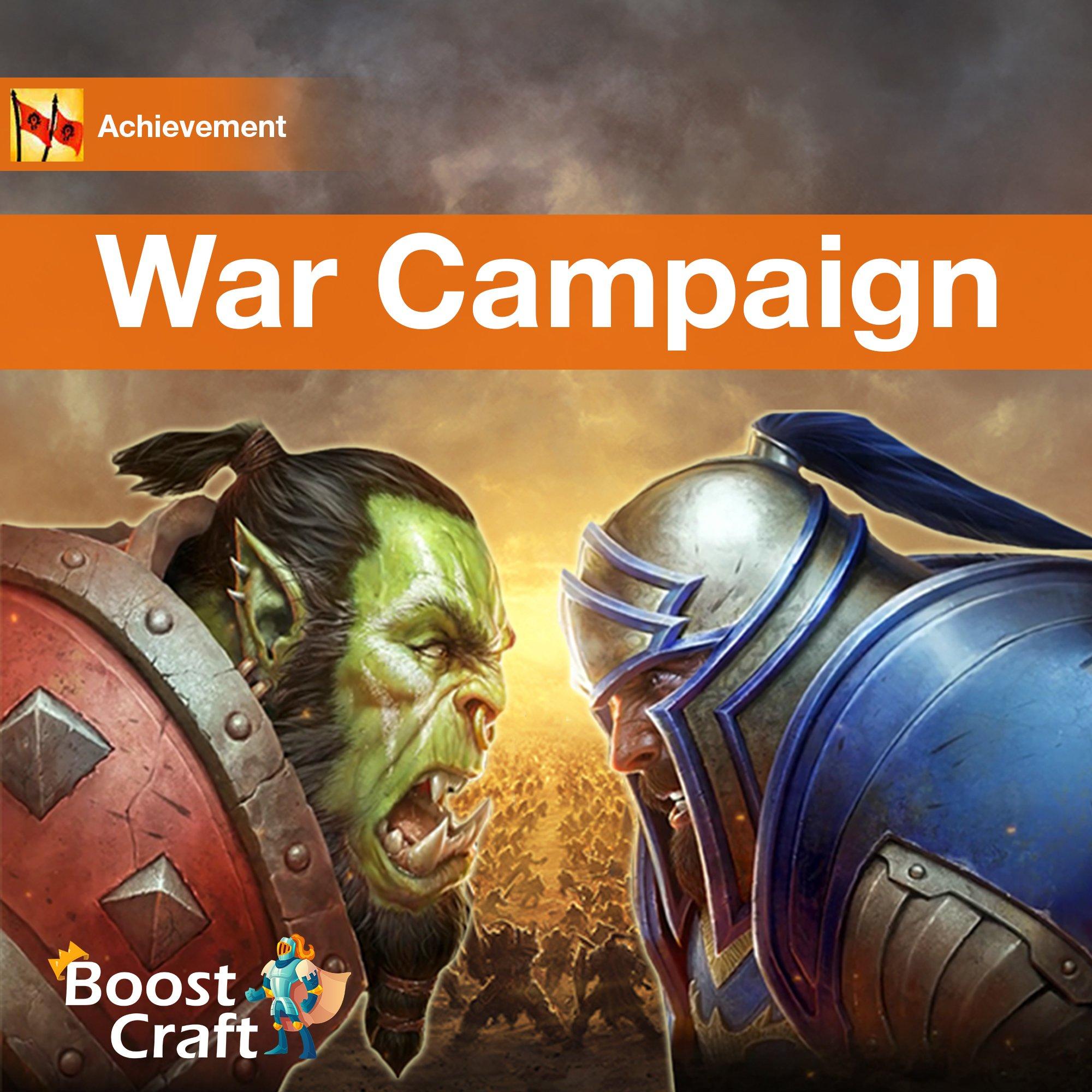 BFA War Campaign – Boost Service