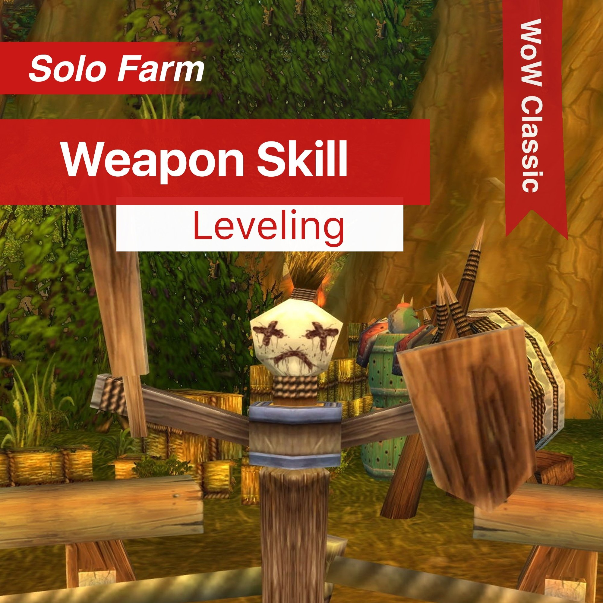 WoW Classic – Weapon Skill Leveling – Boost