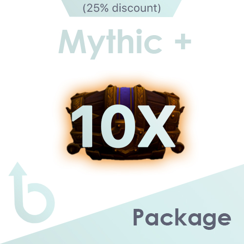 PACKAGE for x10 Mythic+ Runs (25% discount)