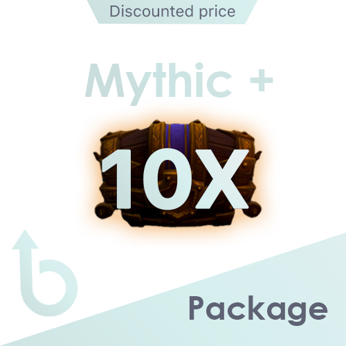 PACKAGE for x10 Mythic+ Runs (Discounted Price)