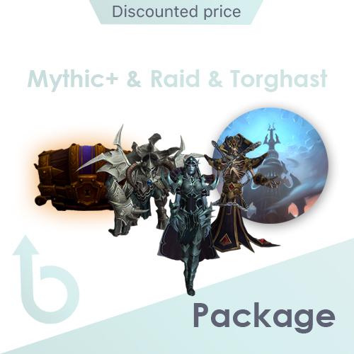 Mythic Plus & SoD raid & Torghast PACKAGE